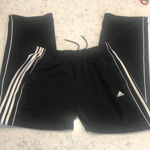 Men's adidas track pant, black XL